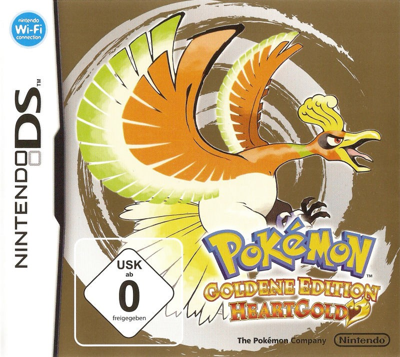 Pokémon: Goldene Edition HeartGold