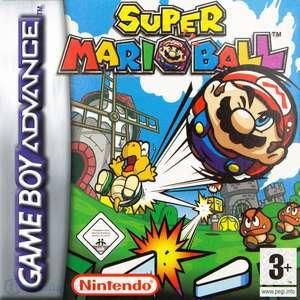 Super Mario Ball / Mario Pinball Land