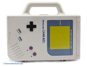 Original Nintendo Gameboy Classic Case in GB Form