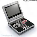 Konsole GBA SP #Classic NES Edition + Netzteil