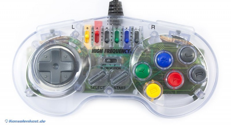 Turbo Controller #transp. [High Frequenzy]