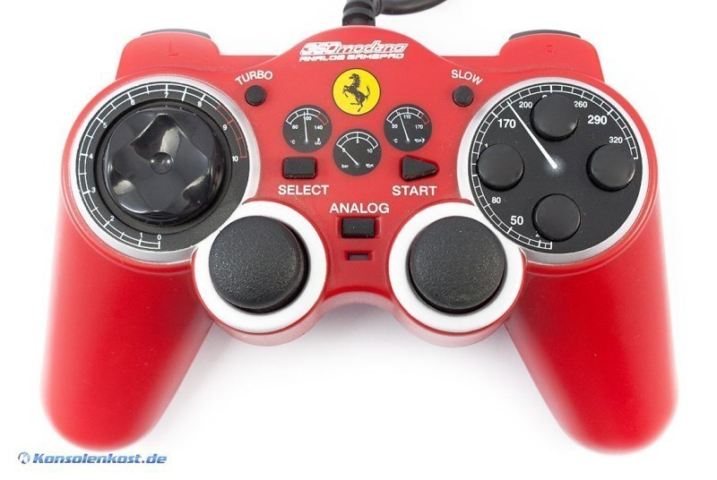 Controller / Pad #rot 360 Modena Ferrari Gamepad [Thrustmaster]