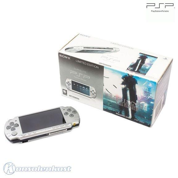Konsole Slim 2004 #Final Fantasy VII Crisis Core Edition + Netzteil