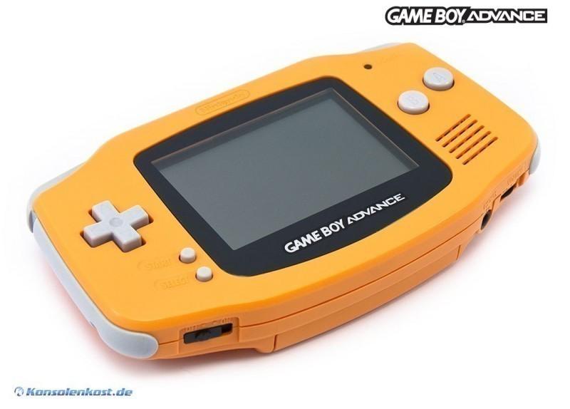 Konsole / transp. Batteriefachdeckel #orange SELTEN!