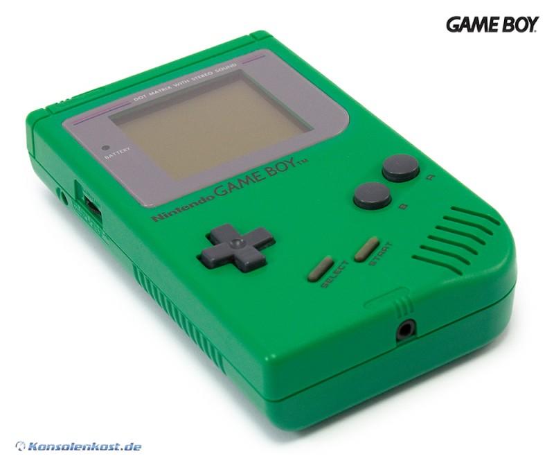 Konsole #grün / Doc Frog Classic 1989 DMG-01