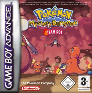 Pokemon Mystery Dungeon Team Rot / Red Rescue