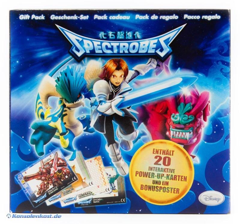 Spectrobes Gift-Set 20 Power-UP Karton #blau