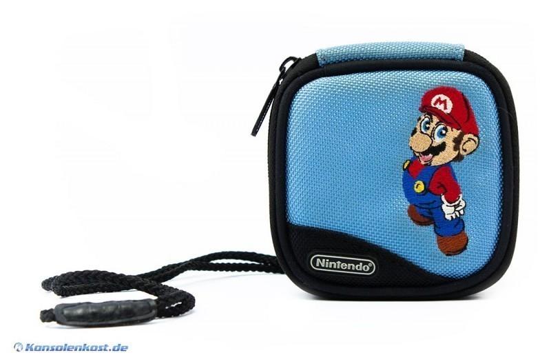 Original Nintendo Gameboy Advance-SP Tasche Mario-Design