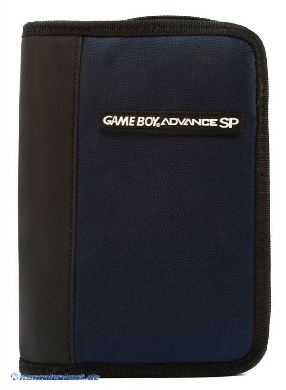 Original Nintendo Gameboy Advance SP Tasche #blau/schwarz