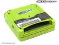 Konsole GBA SP #Lime Green Limited Edition + Netzteil