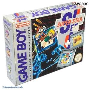 Super Star Set: Konsole + Zelda + Mario Land 2 #grau Classic 1989