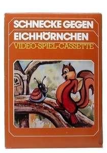 Schnecke gegen Eichhörnchen / Snail Against Squirrel #Textlabel