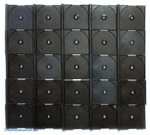 Original Sony CD Case Inlay Replacement für Hülle / Case als Ersatz 25 Stück