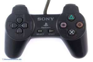 Original Sony Controller #schwarz SCPH-1080
