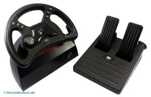 Lenkrad / Racing / Steering Wheel mit Pedale [Madcatz]