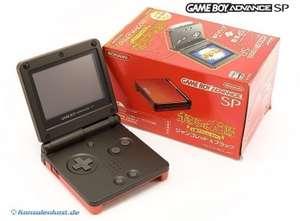 Konsole GBA SP mit Spiel #Boktai Limited Edition + Netzteil