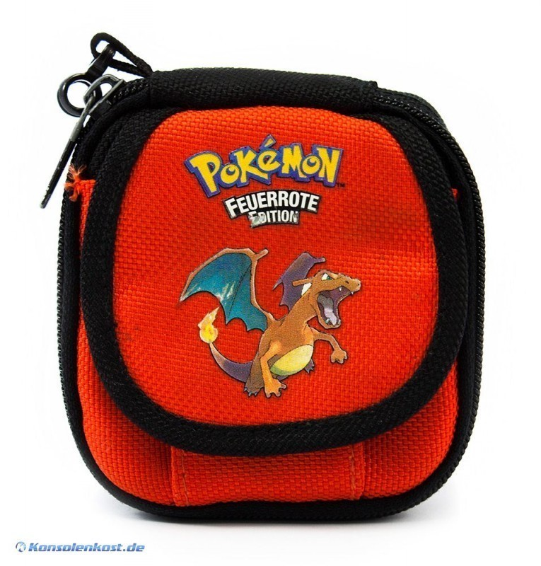 Tasche Pokemon Feuerrote Edition / FireRed Edition #rot