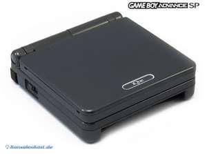 Konsole GBA SP #iQue Limited Edition schwarz + Netzteil