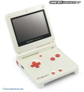 Konsole GBA SP #Rip Curl Edition + Netzteil