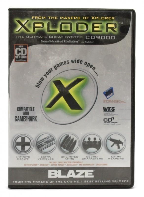 Cheat Catridge / Mogelmodul / Schummelmodul Xploder FX Ultimate System [Blaze]
