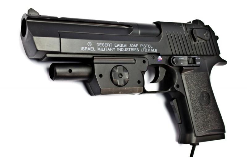 Lightgun #schwarz Desert Eagle 50AE Pistol