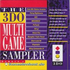 Multigame Sampler Number 3