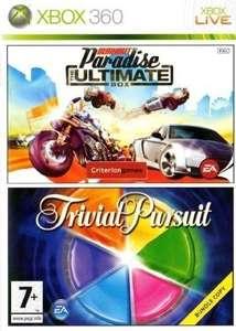 Bundle: Burnout Paradise Ultimate Box & Trivial Pursuit