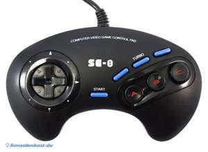 Controller mit Turbofunktion 6 Button