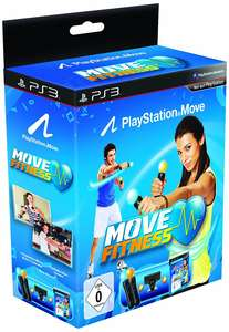 PlayStation Move: Starter-Pack + Move Fitness + 2 Move Controller + Kamera