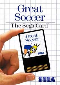 Great Soccer #Sega Card