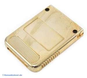 Memory Card / Memorycard / Speicherkarte 1 MB 15 Blocks #gold