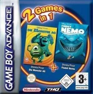 2 Games in 1: Die Monster AG + Findet Nemo