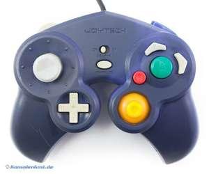 Controller / Pad #lila mit Vibration [Joytech]