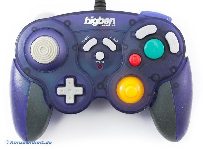 Controller / Pad #lila mit Turbo [Bigben]