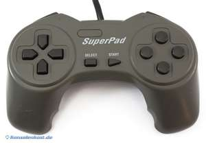 Controller / Pad #anthrazit Superpad [InterAct]