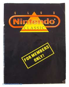 Club Nintendo Classic - For Members Only!