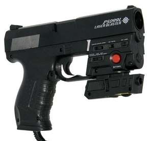 Light Gun / Pistole / Phaser #P099L Laser Blaster [Logic3]