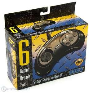 6 Button Arcade Controller / Pad [Sega]