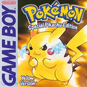 Pokemon Gelbe Edition / Yellow Version #Special Pikachu Edition (g