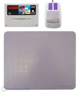 Mario Paint + Maus + Mousepad