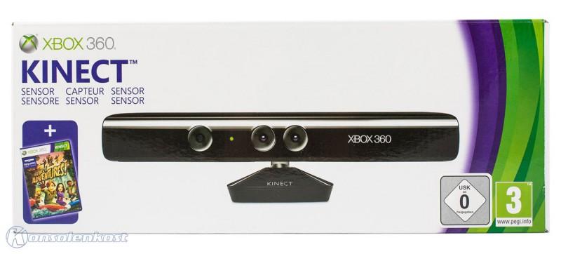 Kinect Sensor + Adventures Microsoft