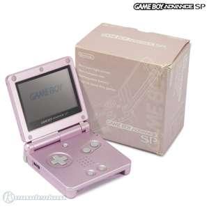 Konsole GBA SP + Netzteil #Pearl Pink