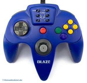 Controller / Pad #blau mit Turbo und Slowmotion Funktion [Blaze]