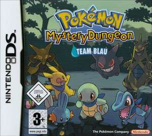 Pokemon Mystery Dungeon: Team Blau