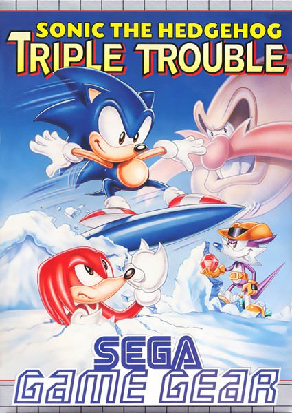 Game Gear - Sonic the Hedgehog Triple Trouble