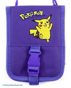 Pokemon Tasche #lila mit Pikachu