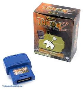Rumble Pak #blau Turok 2 Limited Edition Jolt Pack