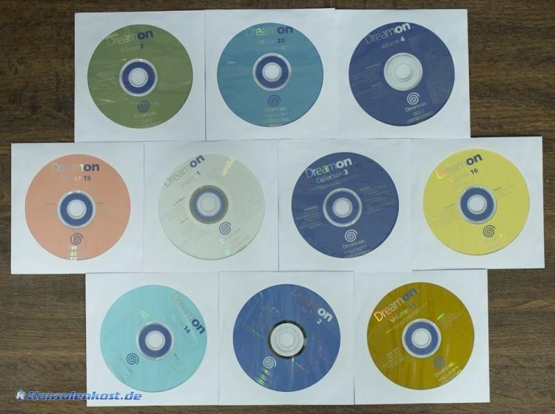 10 verschiedene Demos Dreamon Volume Set-5