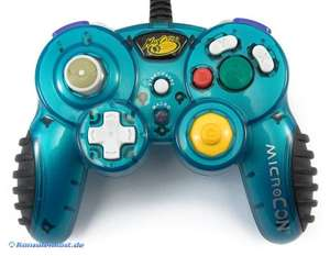 Controller / Pad #türkis MicroCON mit Macro Funktion [MadCatz]