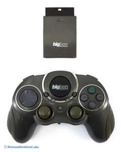 Controller / Pad Wireless mit Turbo #Anthrazit [BigBen]